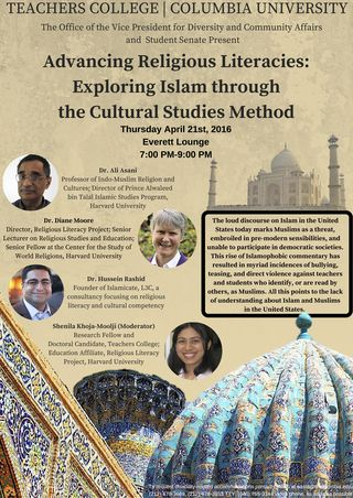 Religious Literacy Event Flyer