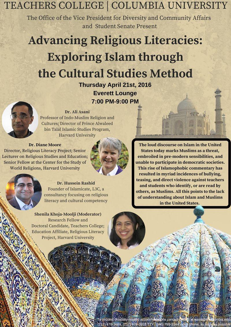 Religious Literacy Event Flyer